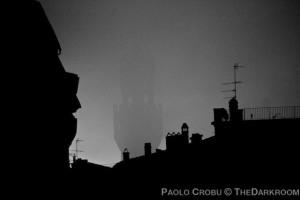 Luci della mattina nella nebbia