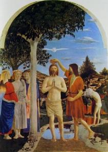 10 Piero della Francesca - Il Battesimo di Cristo