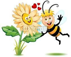 l'ape e il fiore