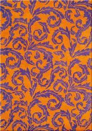 arancione e viola