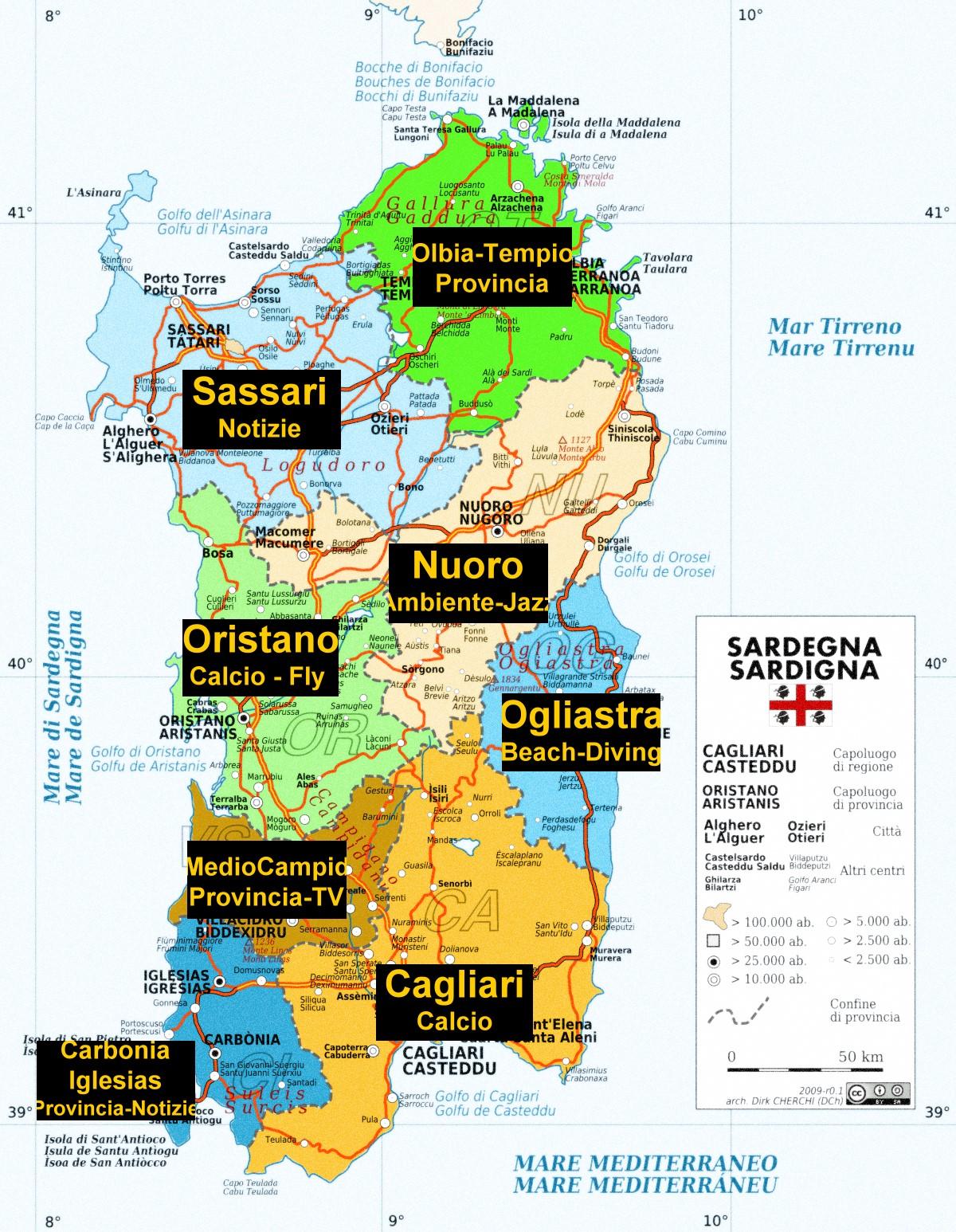 Cartina Sardegna Province.Le 62 Sindache Attualmente In Carica In Sardegna Resoconto Di Daniela Domenici Daniela E Dintorni