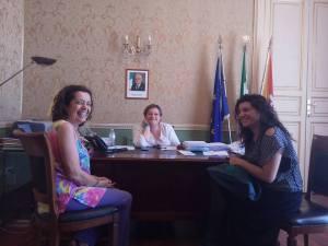 incontro con le due Assessore 21 luglio 2016