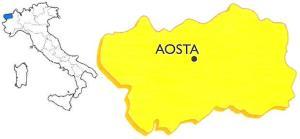 Valle d'Aosta posizione