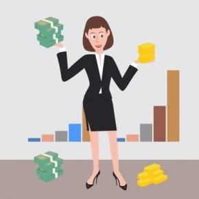 women-bank-account