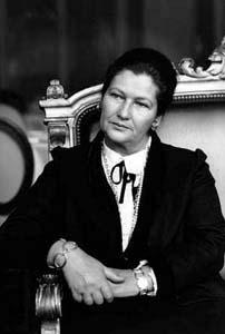 VEIL, Simone, 1993, Femme Politique (F) © ERLING MANDELMANN ©