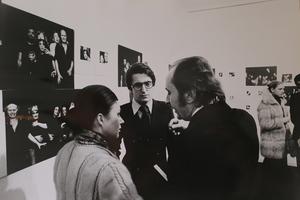 Mostra delle fotografie di scena di Antigone del LivingTheatre. Galleria Primopiano, Torino, 1974.