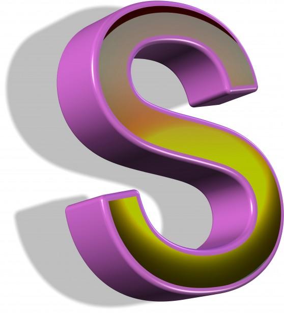 3d-letter-s